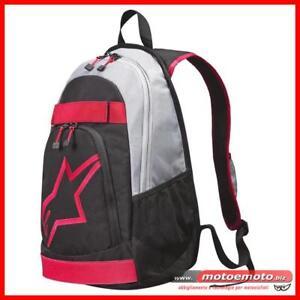 Los Angeles 24e66 fdf4f Details about Zaino Moto Alpinestars Defender Backpack Porta Pc Nero Rosso