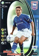 FOOTBALL CHAMPIONS 2001-02 Matt Holland 118/250 Ipswich Town F.C. FOIL