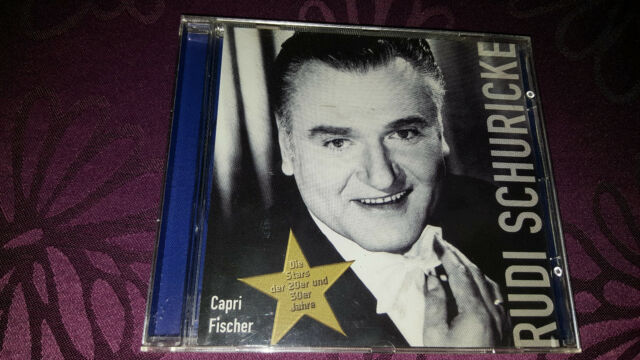 CD Rudi Schuricke / Capri Fischer - Album 2001