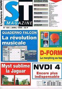 Courageux St Magazine N°104 Avr 1996 : Quaderno Falcon D-form Nvdi 4