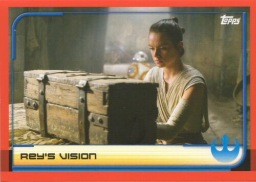 Topps STAR WARS JOURNEY TO LAST JEDI MOVIE BASE CARDS BUY 3 GET 7 FREE FOIL