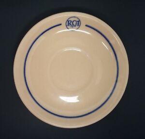 RCA-Restaurant-Saucer-Cafeteria-Lenape-Scammell-039-s-Trenton-Pre-50s-5-1-2-034-Camden