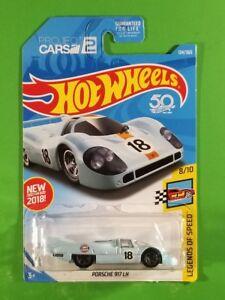 White Porsche 917 LH 269//365 50TH Anniversary MATTEL Hot Wheels Legends of Speed 8//10