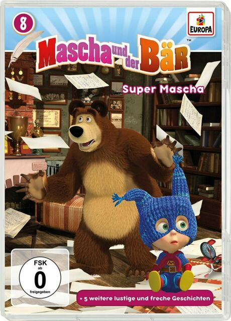 SUPER MASCHA - MASCHA UND DER BÄR  008/ DVD NEW