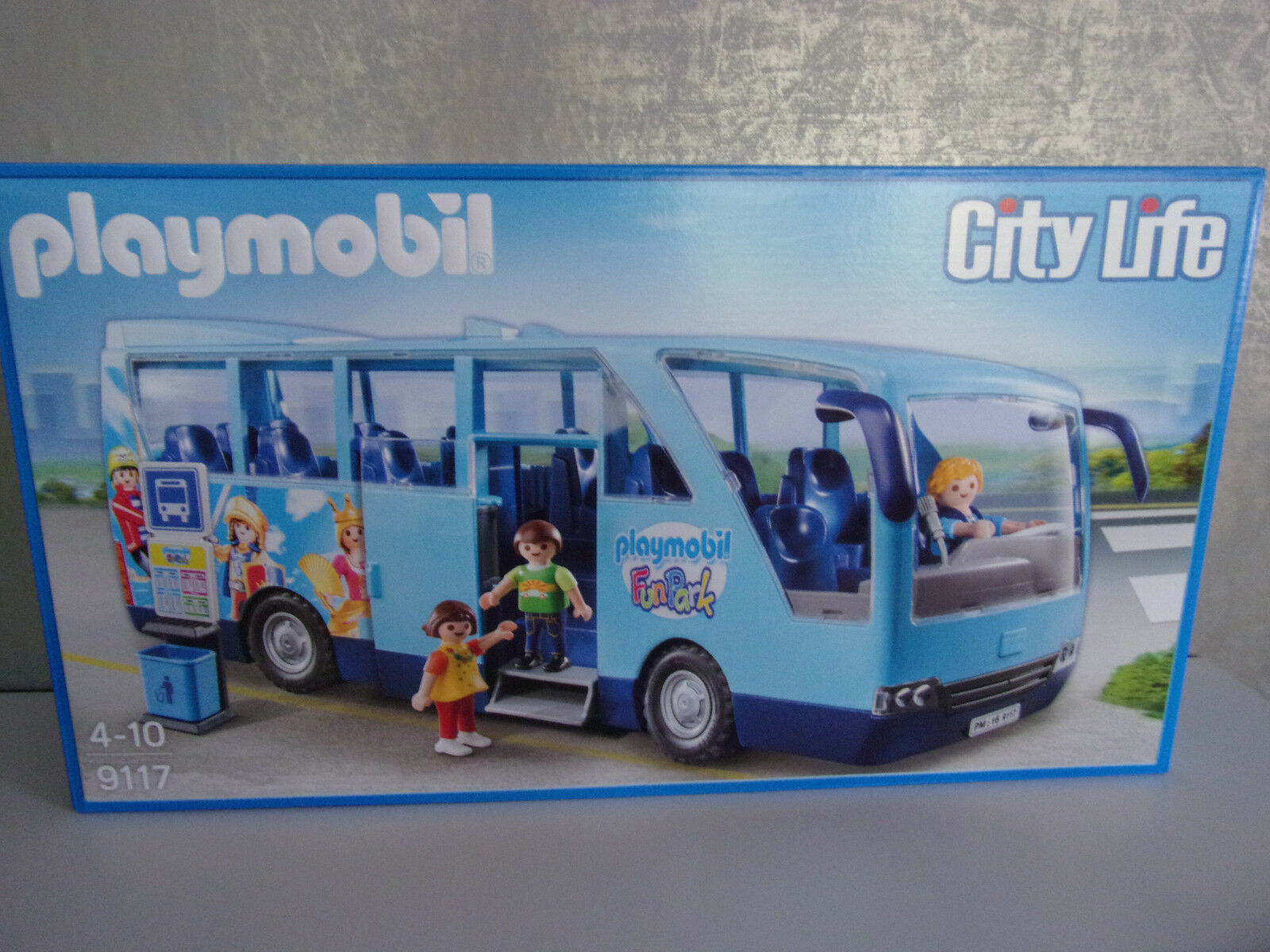 Playmobil City Life 9117 Scuolabus Divertimento Park -