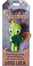 """Watchover VOODOO DOLL Keychain, GOOD LUCK, The Best of Luck, 3"""" Tall"""
