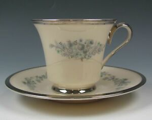 Lenox-China-REPERTOIRE-Cup-and-Saucer-Set-s-EXCELLENT