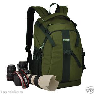 waterproof dslr slr green photography backpack for nikon