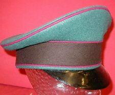 Schirmmütze Feuerschutzpolizei, grünmeliert, Deutsch 2WK WKII, Grösse wählbar