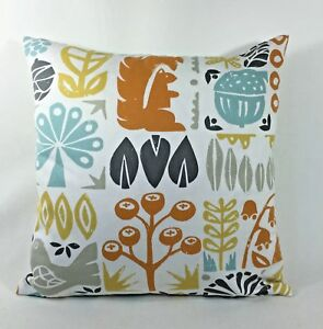 Details About Harlequin Scion Woodland Scandinavian Retro 60s Fabric Cushion Cover 120108