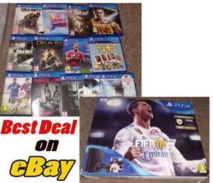 Sony-Playstation-4-500GB-amp-13-games-bundle-PS4-UK-SPEC-Massiccia-AFFARE-UK-PAL-A