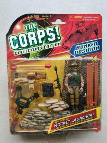 Rocket launcher Lanard The Corps Bunker position Collectors Edition