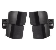 B-Tech BT332 schwarz - Deckenhalterung Wandhalterung für Lautsprecher - Paar