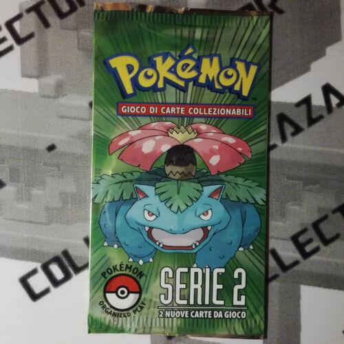 x1 Busta carte Pokemon POP SERIE 2 in ITALIANO NUOVO Booster Pack EX Venusaur