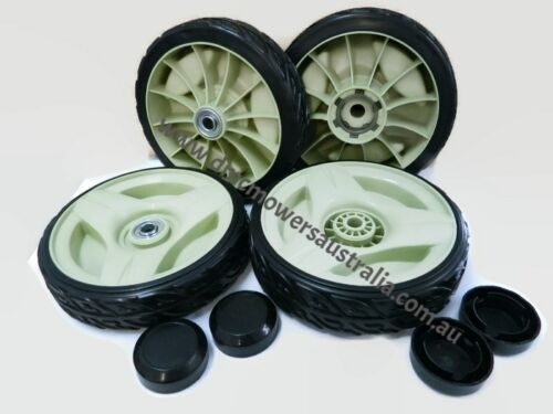 latest style! SET of FRONT & REAR DRIVE WHEELS for HONDA lawn mowers HRU216M2