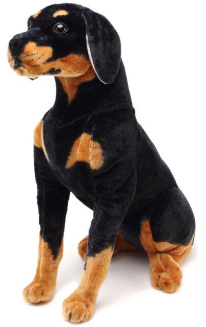 Robbie The Rottweiler Over 2 Foot Tall Stuffed Animal Plush Dog Ebay
