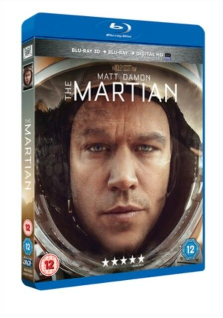 The Martian 3D+2D Blu-Ray Nuevo Blu-Ray (6456015044)