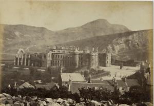 100% Vrai Janes Valentine, Écosse, Stirling Castle Vintage Albumen Print, Scotland Tirag