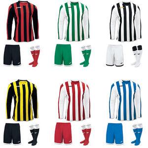 8546815abea JOMA COPA STRIPE FOOTBALL TEAM KIT STRIP SHIRTS, SHORTS,SOCKS MENS ...