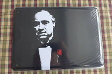 The Godfather Metal Sign Painted Poster Wall Art Home Shop Pub Club Move Italy