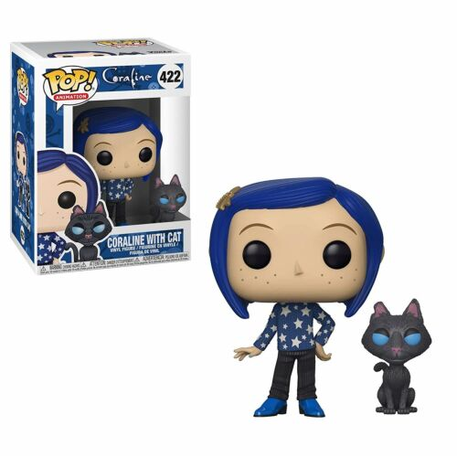 Coraline avec Chat BUDDY Brand New in Box Coraline Funko-Pop Movies