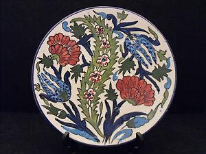 Assiette à Suspendre Décor Floral French Black-plate Exzzfzd0-10043139-886319836