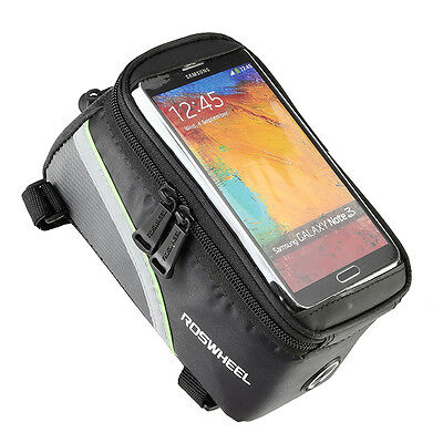 ROSWHEEL Cycling Bike Bicycle Phone Case Frame Front Tube Bag For iPhone 4/4S/5
