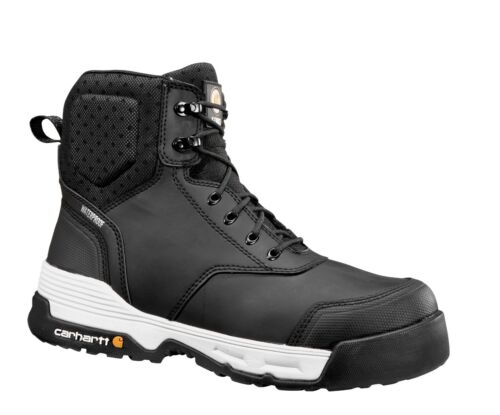 """Carhartt CMA6331 Men/'s Force 6/"""" Composite Toe Work Boot Breathable Leather Shoes"""