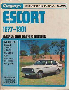 ONE-MOTOR-MANUEL-FOR-FORD-ESCORT-1600-2000-1977-1981-REPAIR-MANUEL