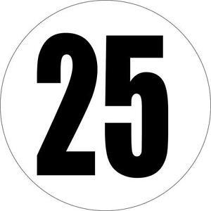 Autocollant sticker voiture camion limitation vitesse 25 km/h panneau 150mm - France - État : Neuf: Objet neuf et intact, n'ayant jamais servi, non ouvert, vendu dans son emballage d'origine (lorsqu'il y en a un). L'emballage doit tre le mme que celui de l'objet vendu en magasin, sauf si l'objet a été emballé par le fabricant d - France