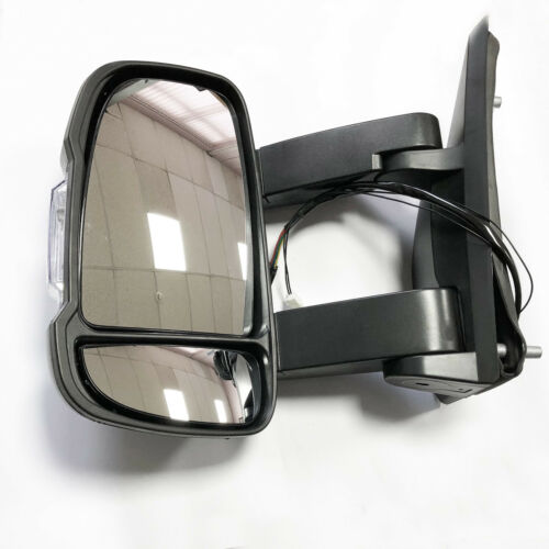 PEUGEOT BOXER Wing Mirror Unit ELECTRIC HEATED Long Arm LH Side Fit 2006 to 2018