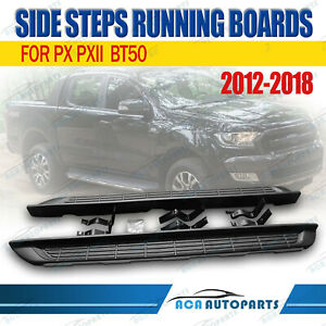 For-Ford-Ranger-Wildtrak-XL-XLT-Running-Board-Side-Steps-2012-on-Double-Cab