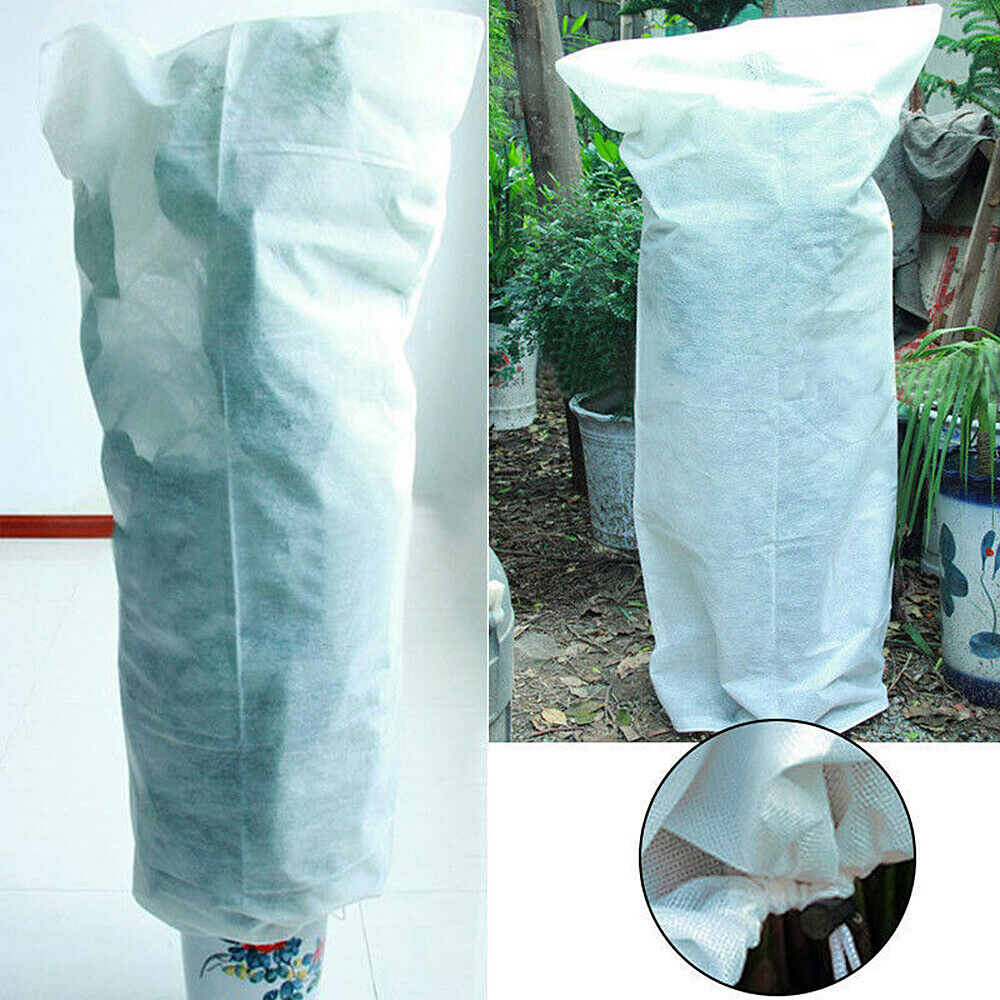 1-10x Large Frost Protection Jacket Plant Warming Fleece Winter Cover S/M/L size