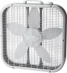 New lasko 3733 20 inch electric usa made 3 speed box fan for 16 inch window box fan