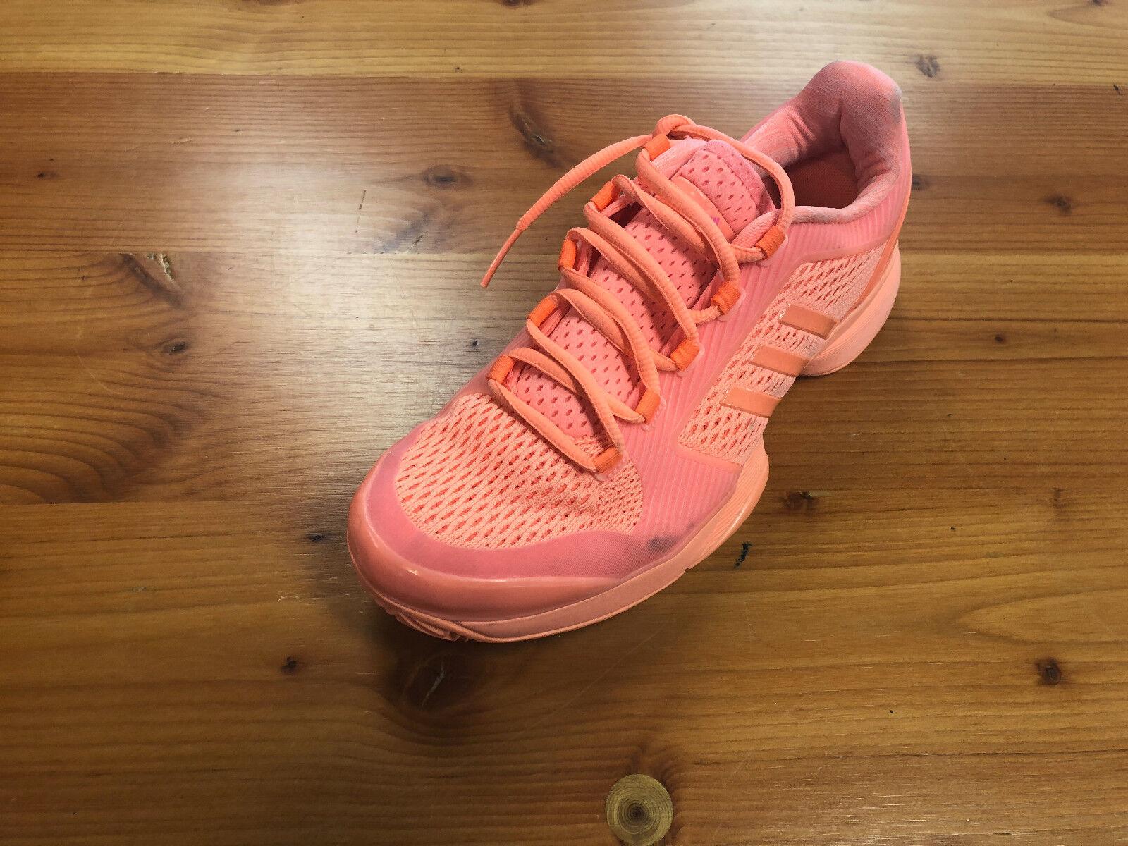 Women's Adidas ASMC Barricade Preowned Tennis shoes Size 5
