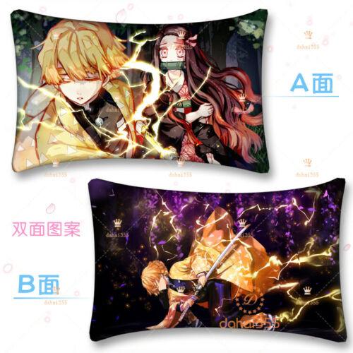 Kimetsu no Yaiba Gift 35×55cm #V8 Dakimakura Pillow Case Anime Demon Slayer