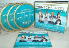 WUNSCHKONZERT Die Radio Hits (NICOLE, IREEN SHEER, ANDREA BERG uva) 3 CDs