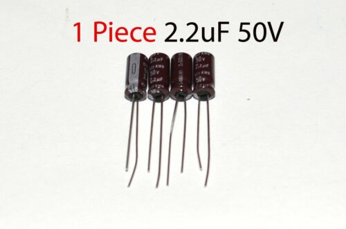 Radial Capacitor Nippon 2.2uF 50v 105C 5x11mm US Seller