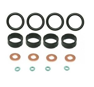 Oring Set 1204698 Washer Citroen C1 1.4 HDi 2005-14  4x Fuel Injector Seal