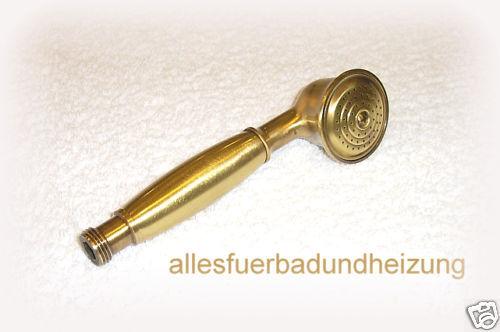 Nostalgie Stil- Handbrause Duschkopf massiv Messing BRONZE BRONZE BRONZE 1/2