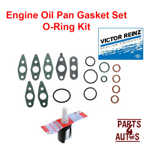 Engine Oil Pan Gasket Set ORing Kit to Reseal the Oil Pan,Lifter Noise Kit VOLVO