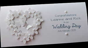 Money For Wedding Gift Uk : ... Handmade Flowerheart Wedding Day Money/Voucher/Gift Card Wallet eBay