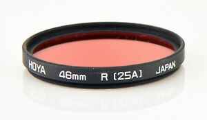 Hoya-46mm-Red-R25A-Circular-Filter