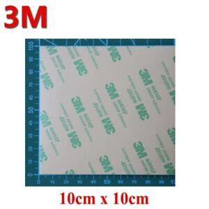 3M™ 468MP Biadesivo transfer 4 fogli 10x10cm