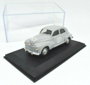 MODELLINO-AUTO-PEUGEOT-203-1954-NOREV-SCALA-1-43-DIECAST-MILLE-MIGLIA-MODELLISMO