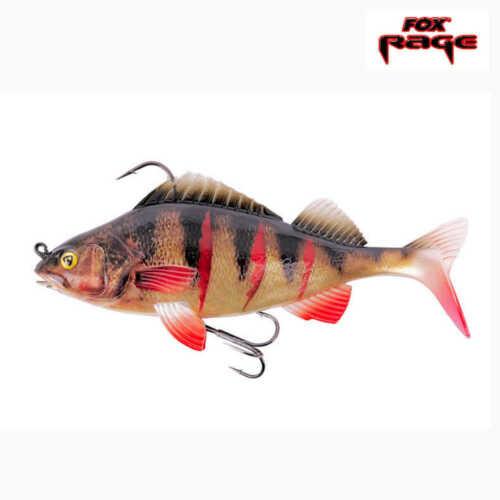 Fox Rage Replicant Super Natural Perch 14cm 45g Wounded Perch Hecht Zander Top