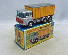 Matchbox Superfast Daf Volquete Camión MB47