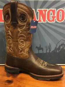 outlet store 52211 f468b Details about NEW Ladies Size 7 M Durango Ultra-Lite Square Toe Brown  Cowboy Boots DRD0310