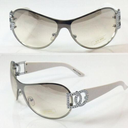New DG  Eyewear For Women Fashion Sunglasses Oversize Wrap Shield Shades 9033
