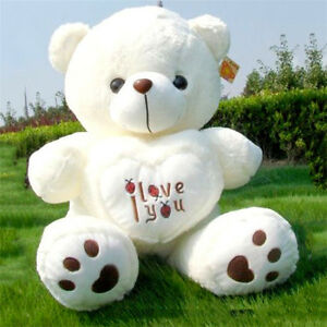 50cm-Giant-large-huge-big-teddy-bear-soft-plush-toys-Valentine-gift-only-cover